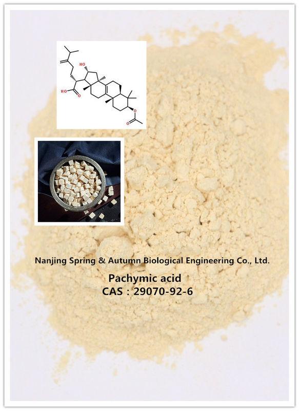 Natural Cosmetics Pachymic Acid Pharmaceutical Raw Materials 29070-92-6